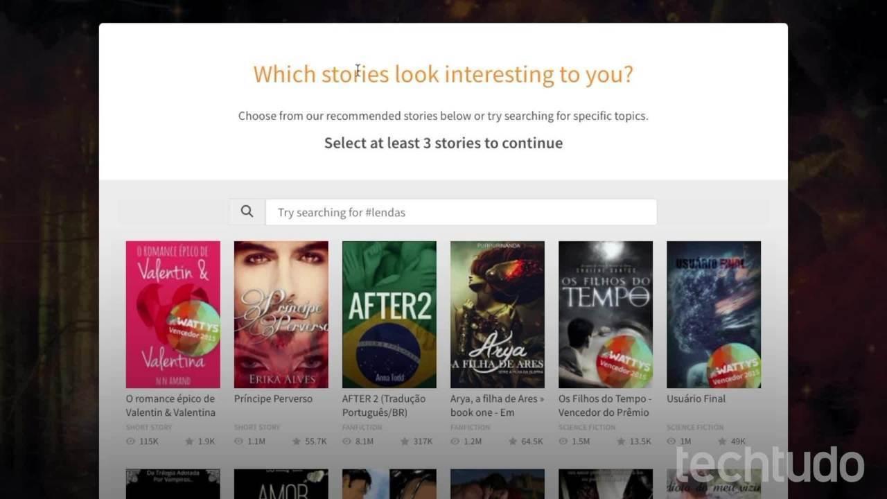 Wattpad Web: veja como usar o site para ler livros grátis