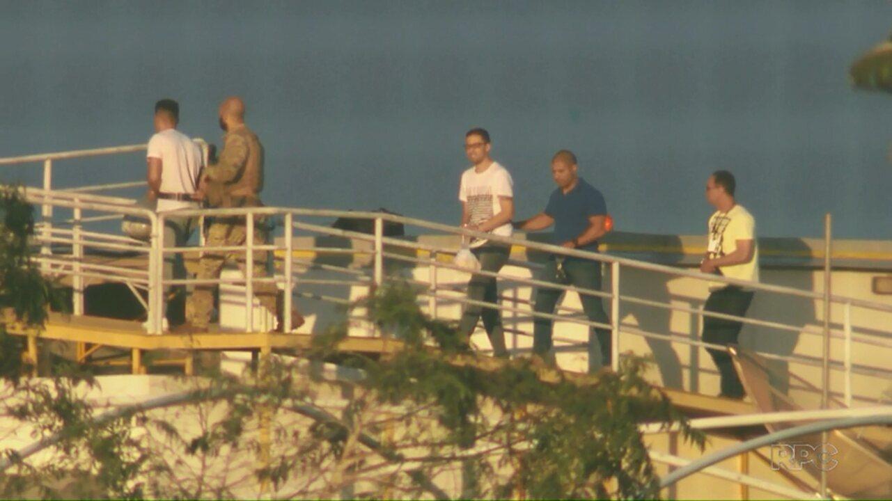 Brasileiro chefe de facção criminosa é transferido para a penitenciária de Catanduvas