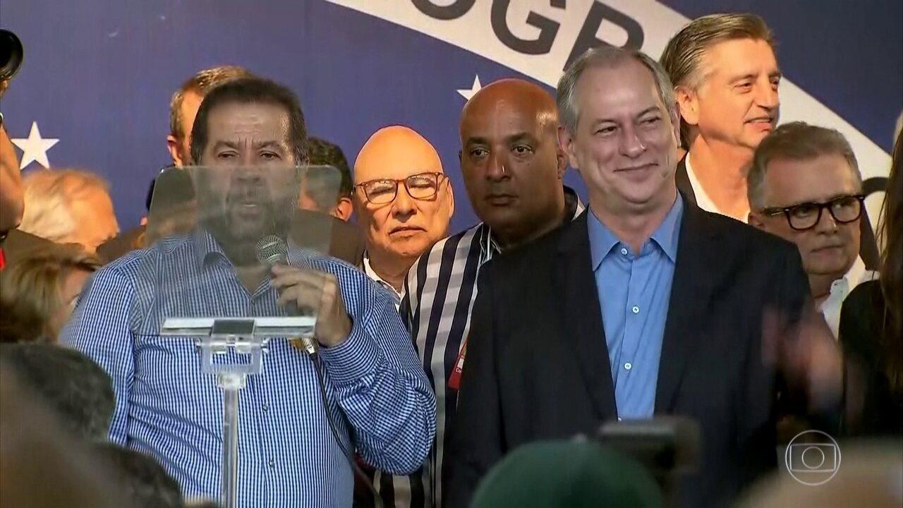 PDT oficializa a candidatura de Ciro Gomes à presidência da República