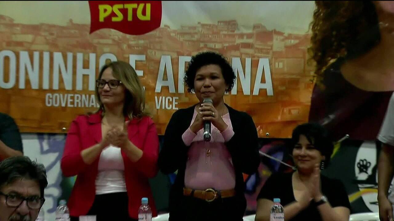 PSTU lança a militante sindical Vera Lúcia como candidata à Presidência