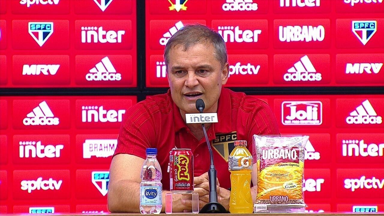 Veja o que Diego Aguirre, técnico do São Paulo, falou depois da vitória no clássico