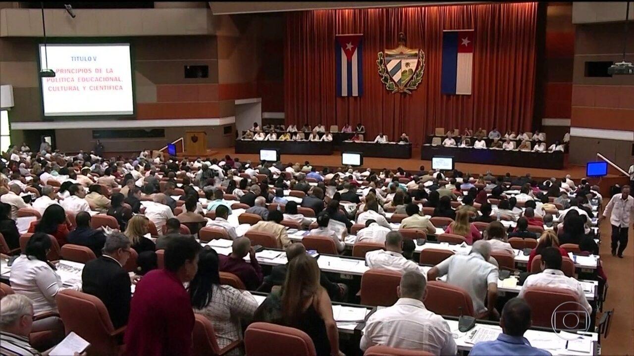 Assembleia de Cuba aprova proposta de reforma da Constituição