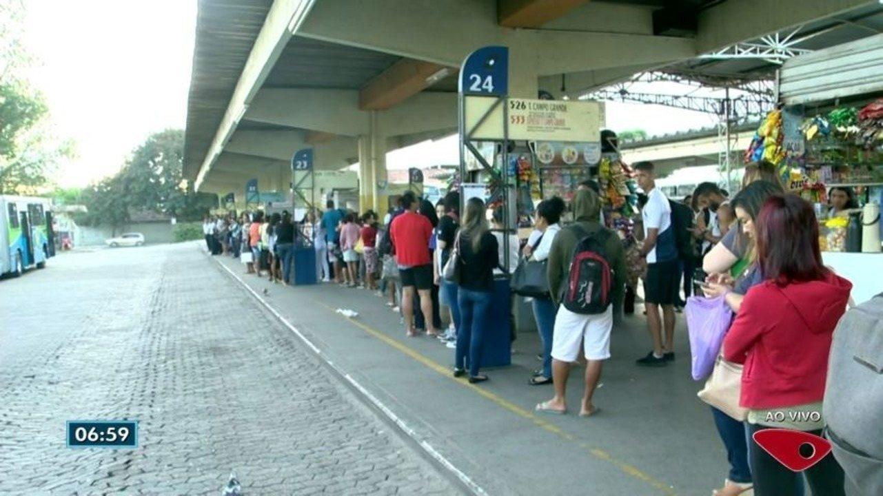 Terminal de Itaparica está interditado e causa mudanças no Transcol, em Vila Velha