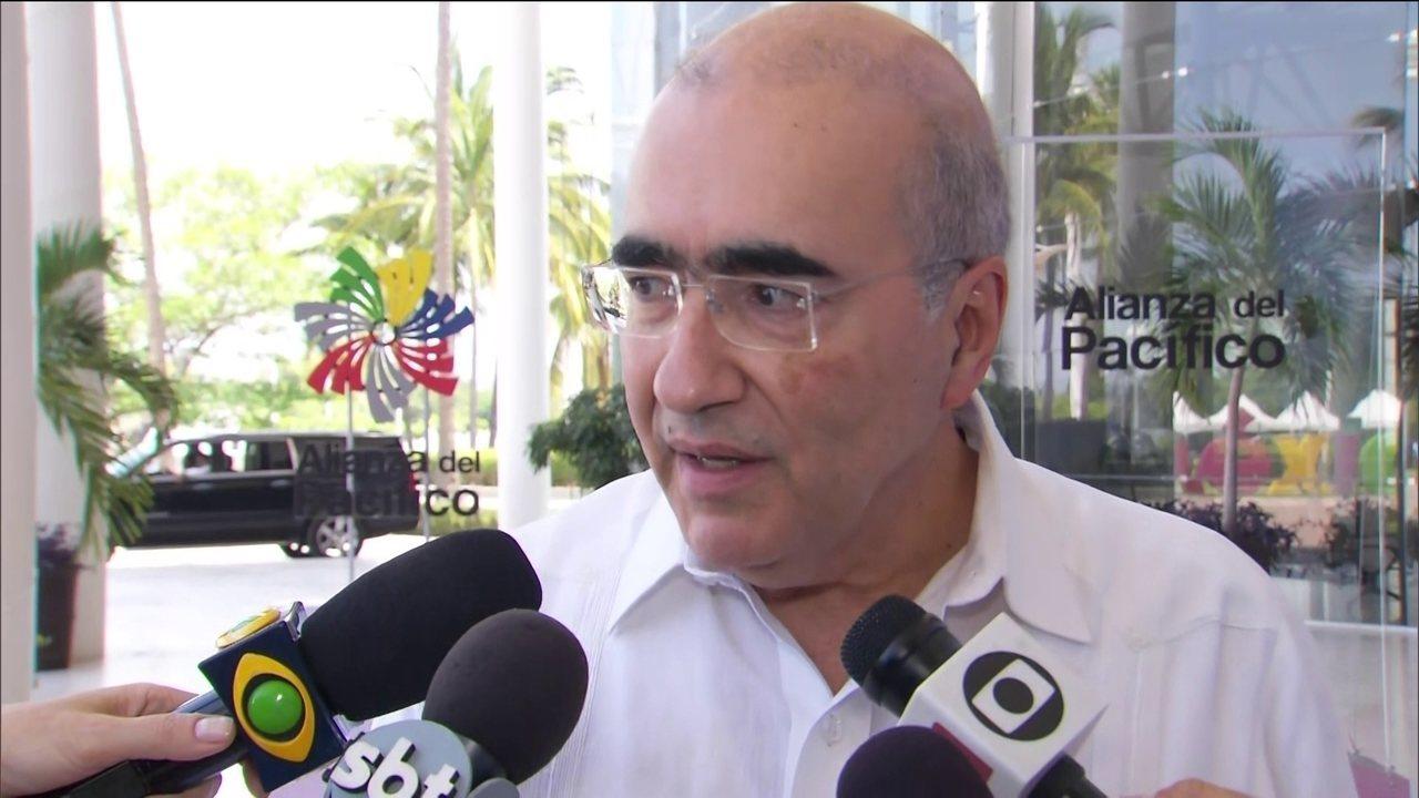 'Itamaraty está completamente mobilizado para tratar deste caso', afirma Marcos Galvão