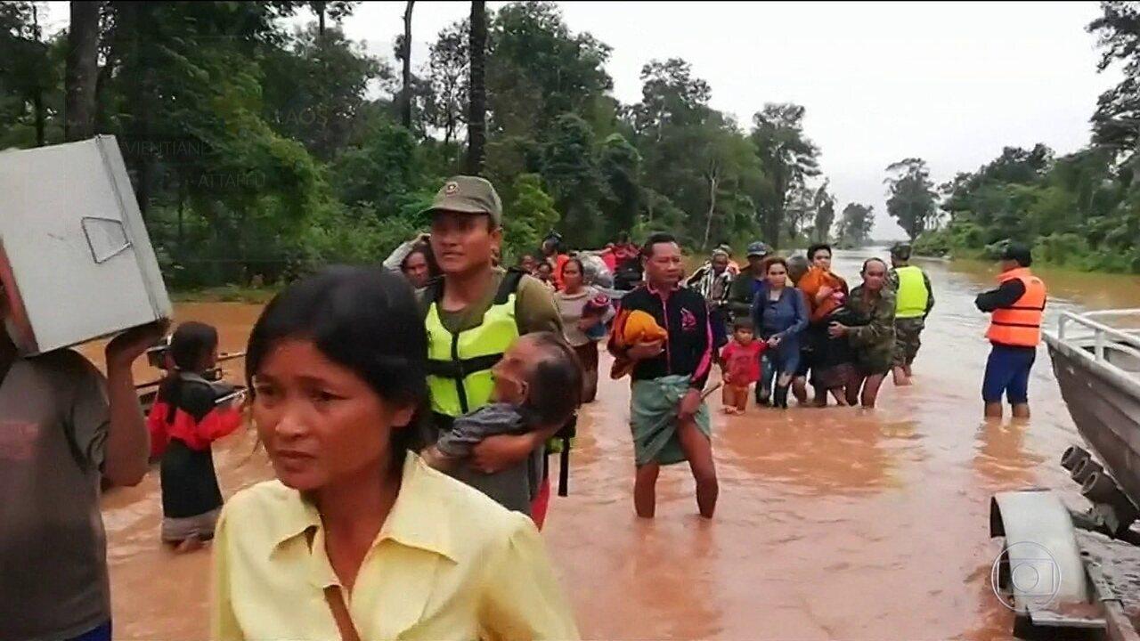 Centenas de pessoas estão desaparecidas no Laos
