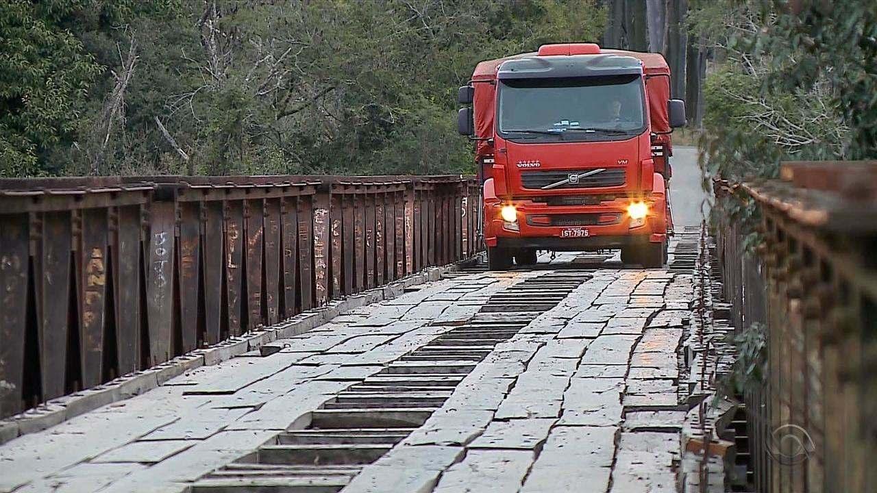 Decisão da Justiça obriga governo e Daer a vistoriar e consertar pontes no RS