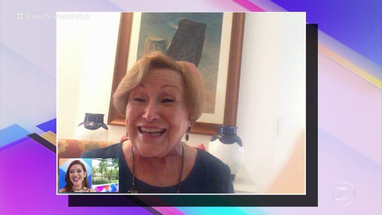 Nicette Bruno fala sobre a relação com os netos