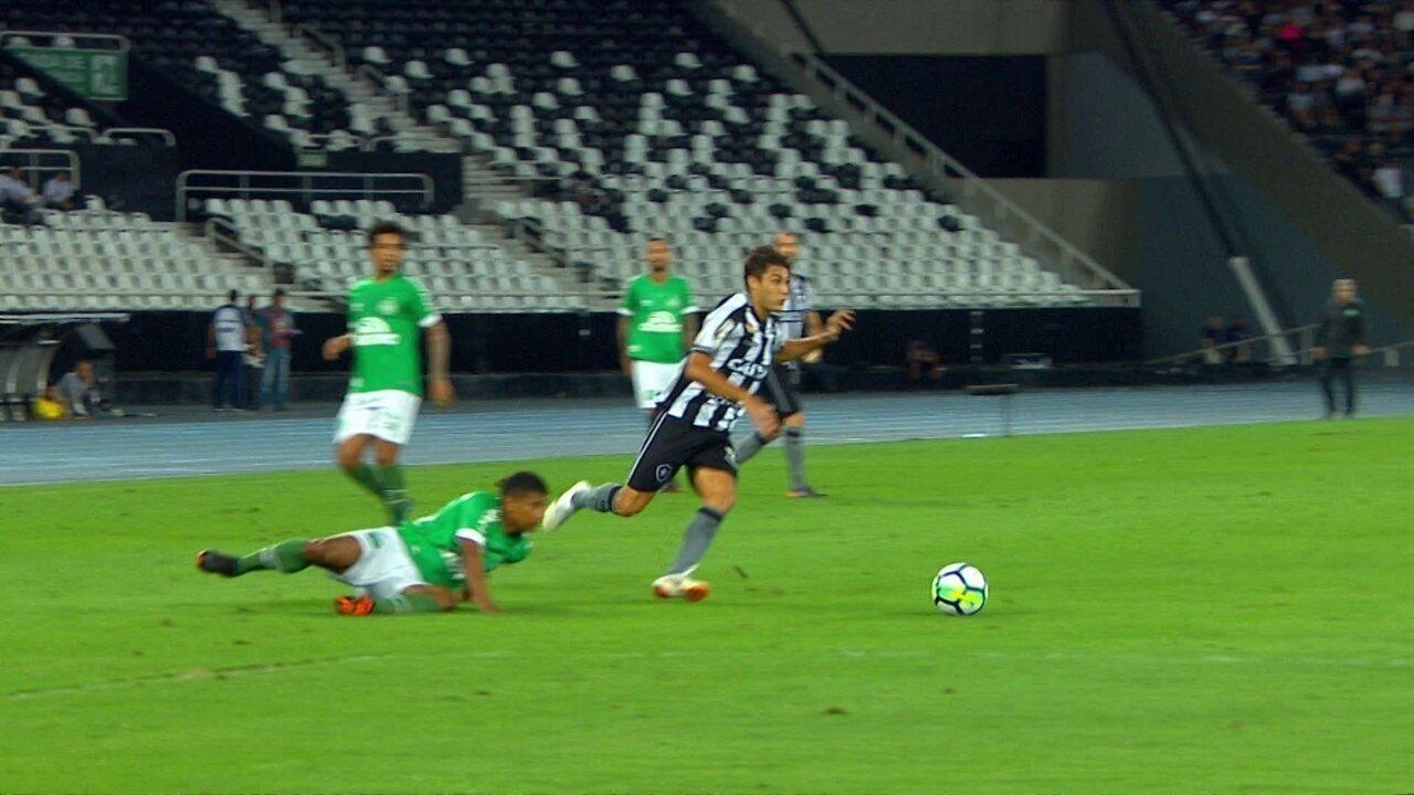 Melhores momentos: Botafogo 1 x 0 Chapecoense pela 15ª rodada do Brasileirão 2018