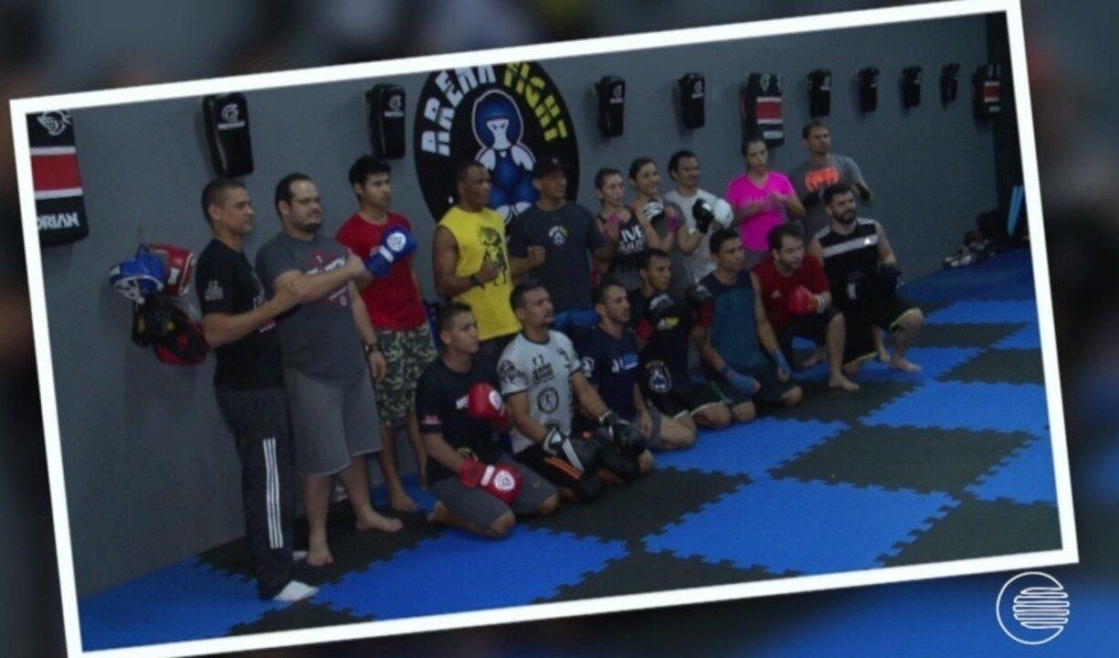 Massaranduba troca experiências com vários lutadores piauienses