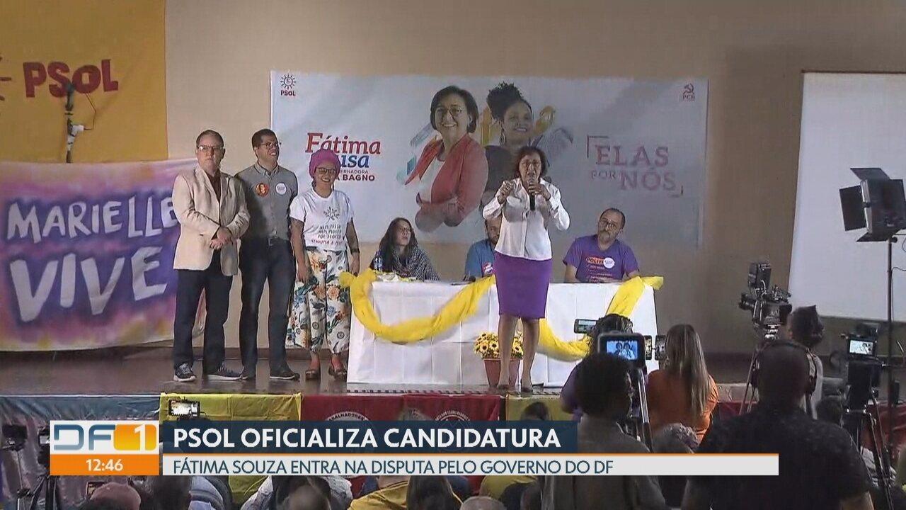 Psol oficializa candidatura ao governo do DF