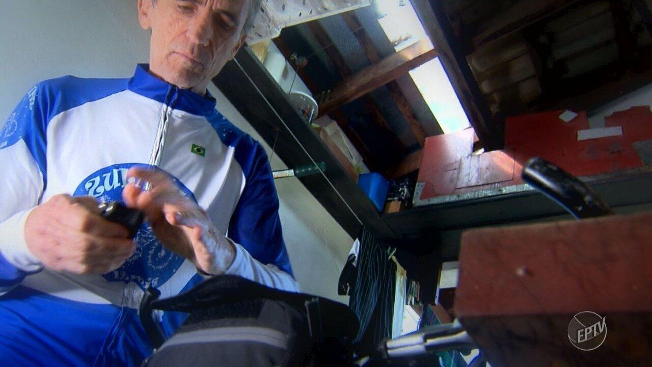 Morador de Valinhos se prepara para viajar de bicicleta para a Argentina