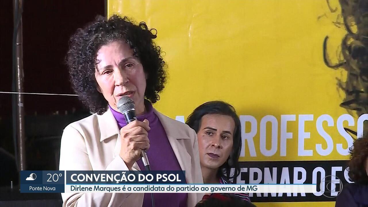 PSOL confirma candidatura de Dirlene Marques ao governo de Minas Gerais