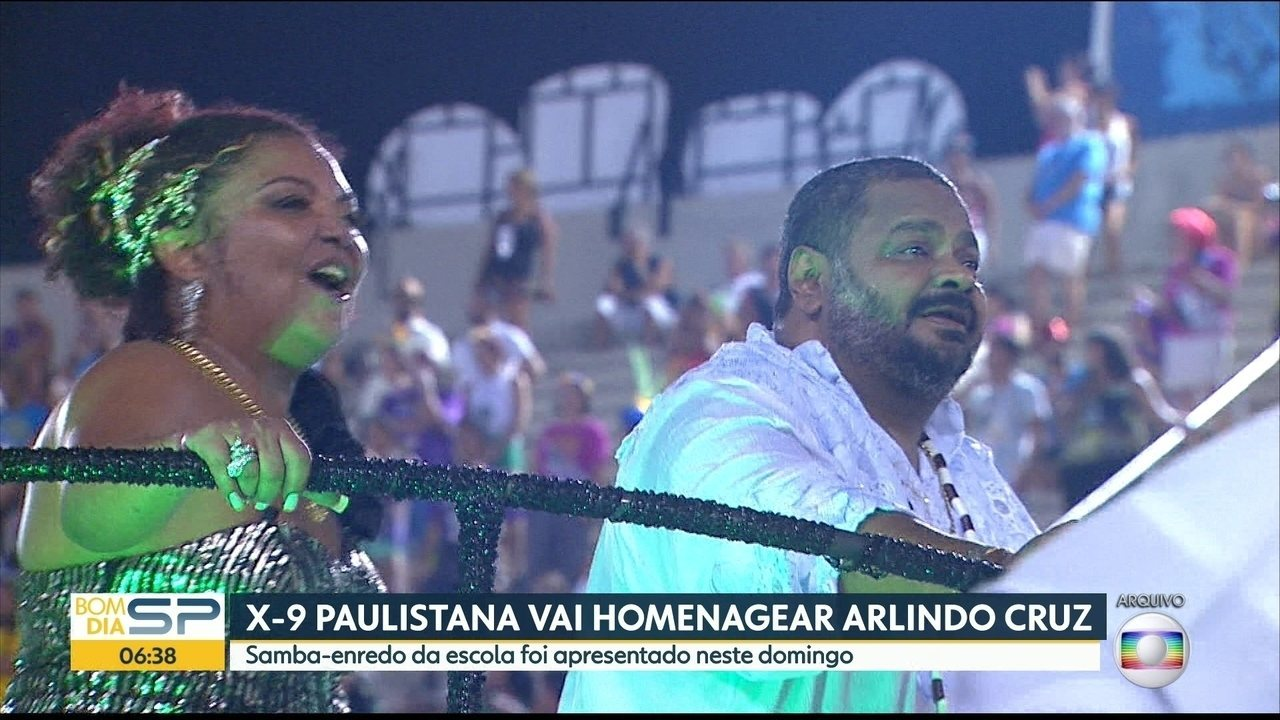 X-9 Paulistana vai homenagear Arlindo Cruz
