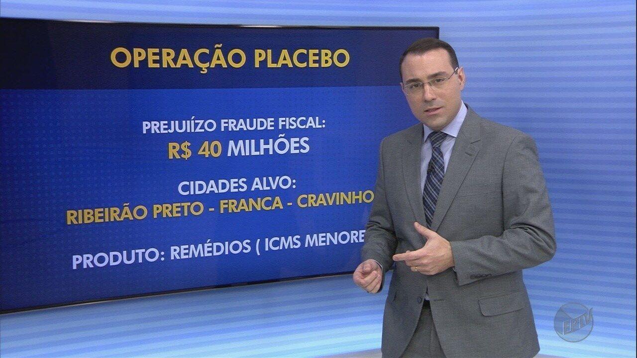 Operação Placebo Paulista investiga fraude fiscal de R$ 40 milhões em SP