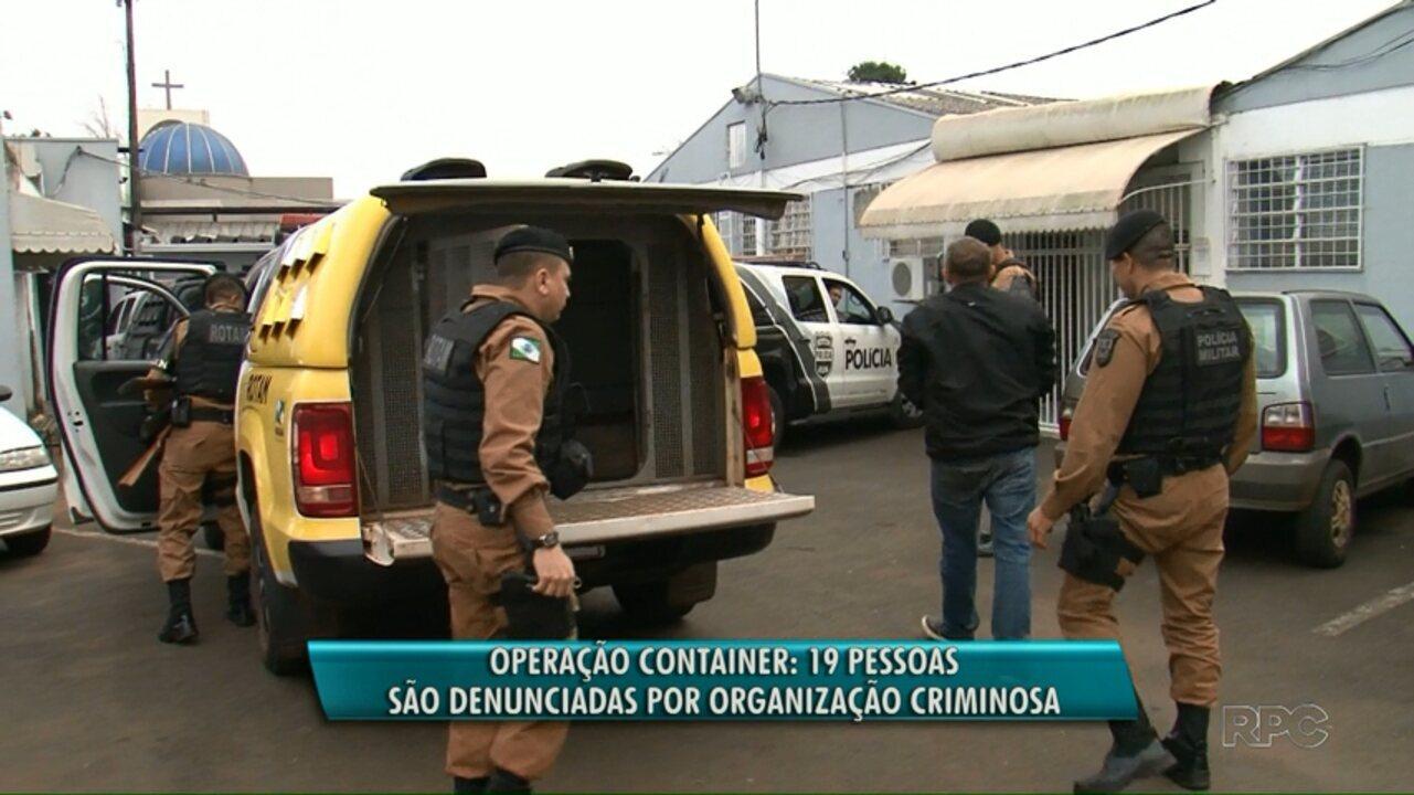Ministério Público denuncia envolvidos na Operação Conteiner