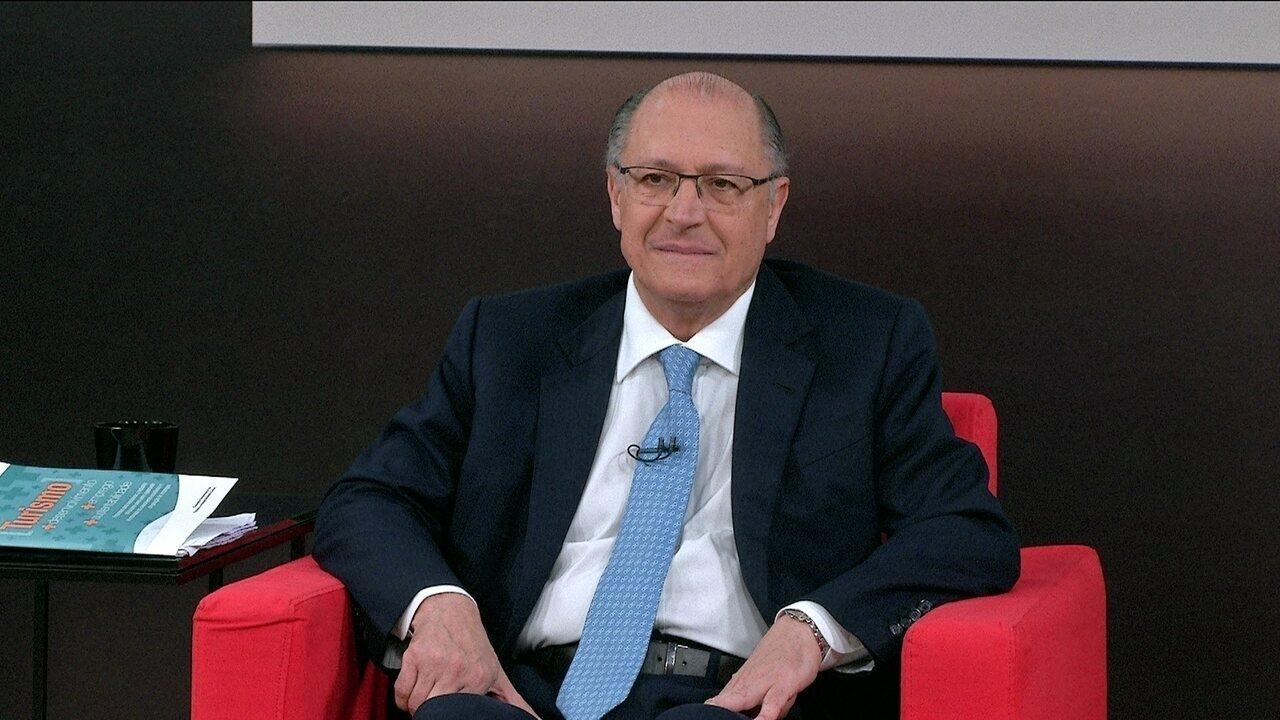 Central das Eleições: 1ª parte da entrevista com o pré-candidato Geraldo Alckmin (PSDB)
