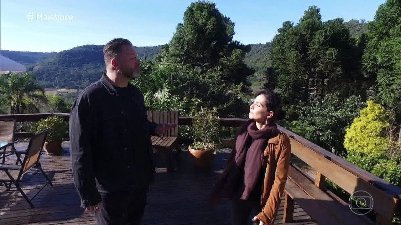 Nadia e Jimmy chegam a Morro Reuter