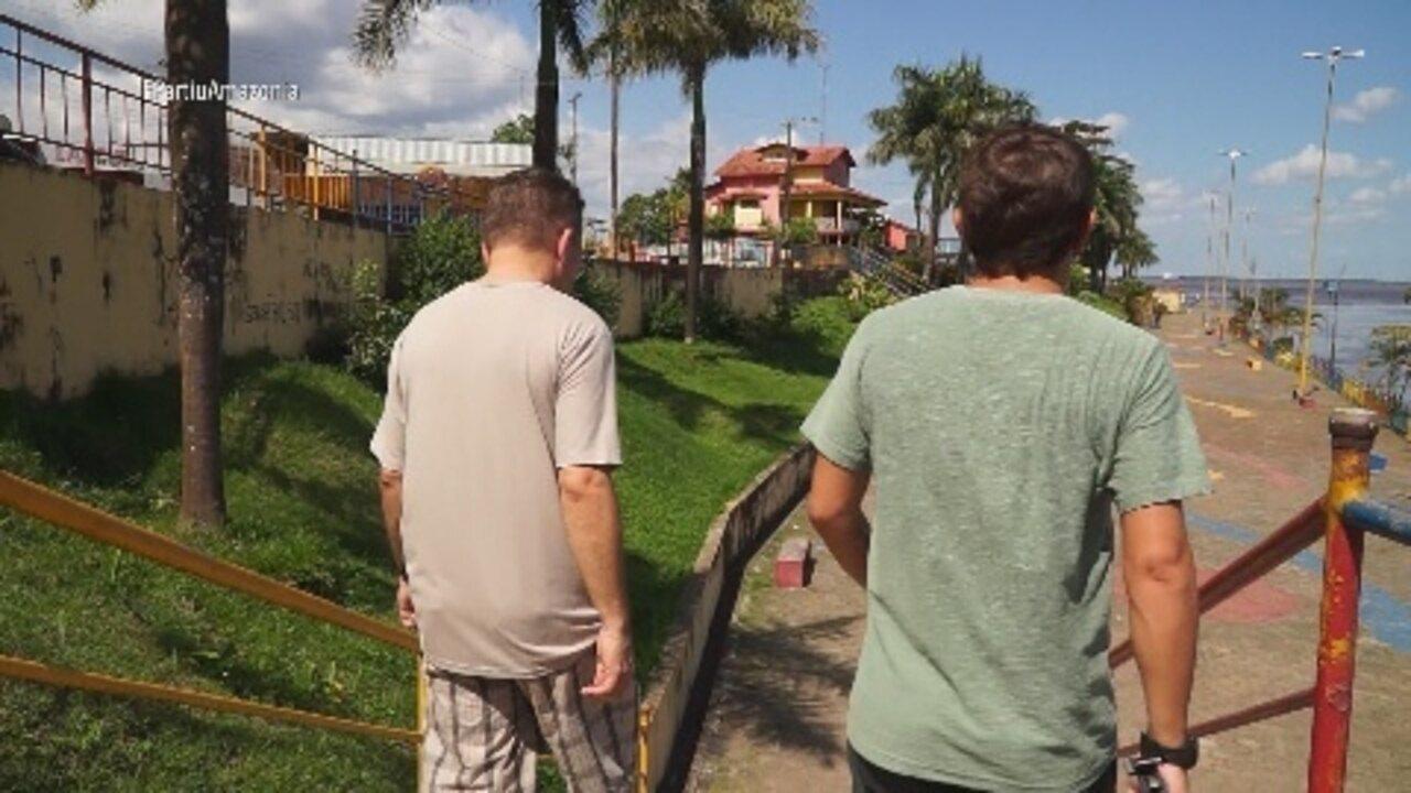 Parte 3: Moacyr fez uma tour pelo Centro Histórico da cidade