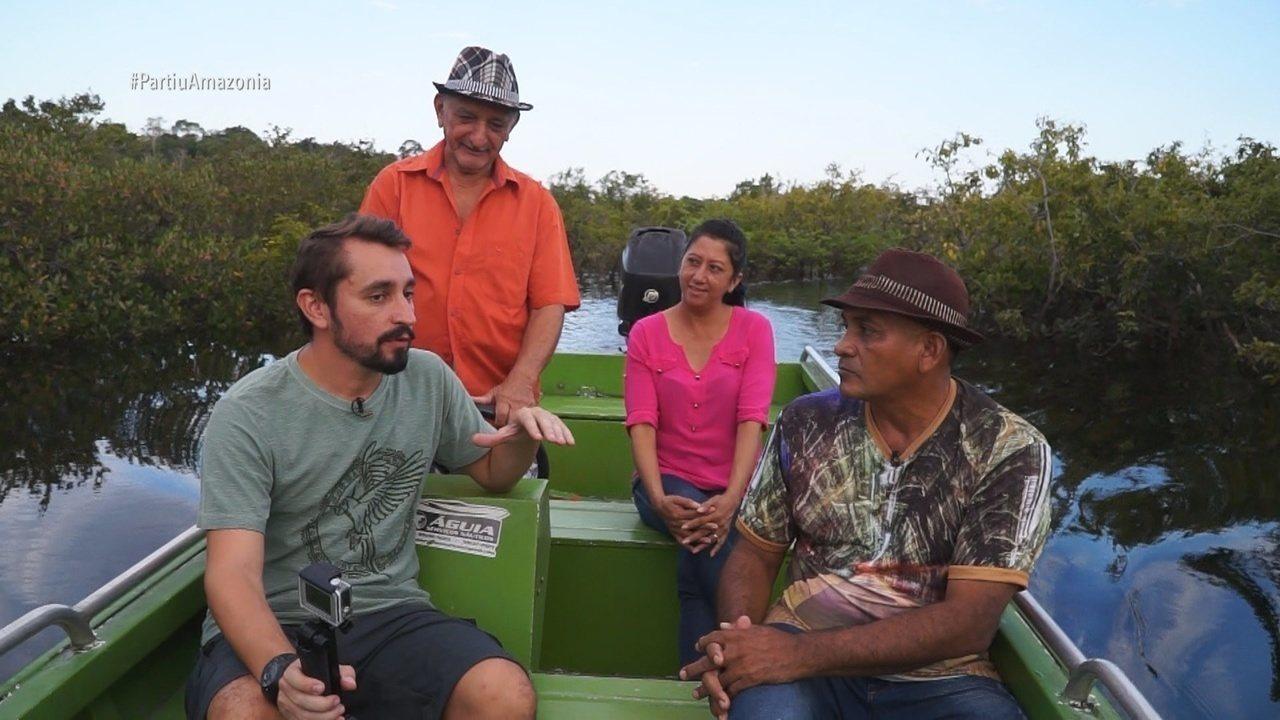 Parte 2: Teve também uma visita ao flutuante do Guri
