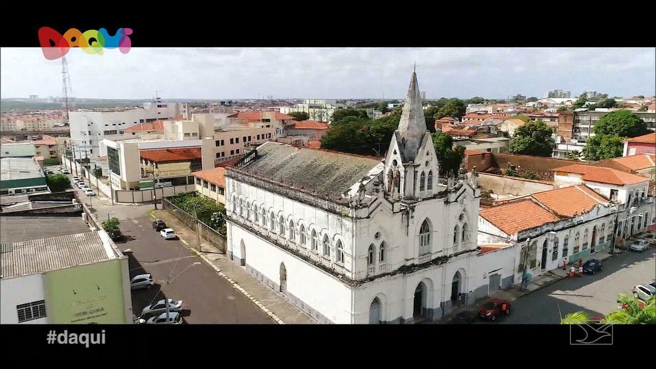 Igrejas de São Luís são destaque no Daqui