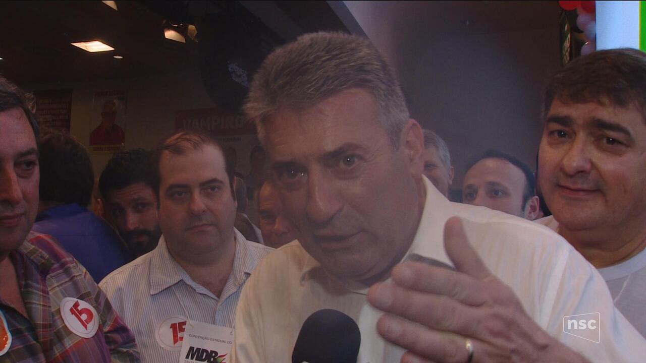 MDB confirma candidatura de Mauro Mariani ao governo de SC