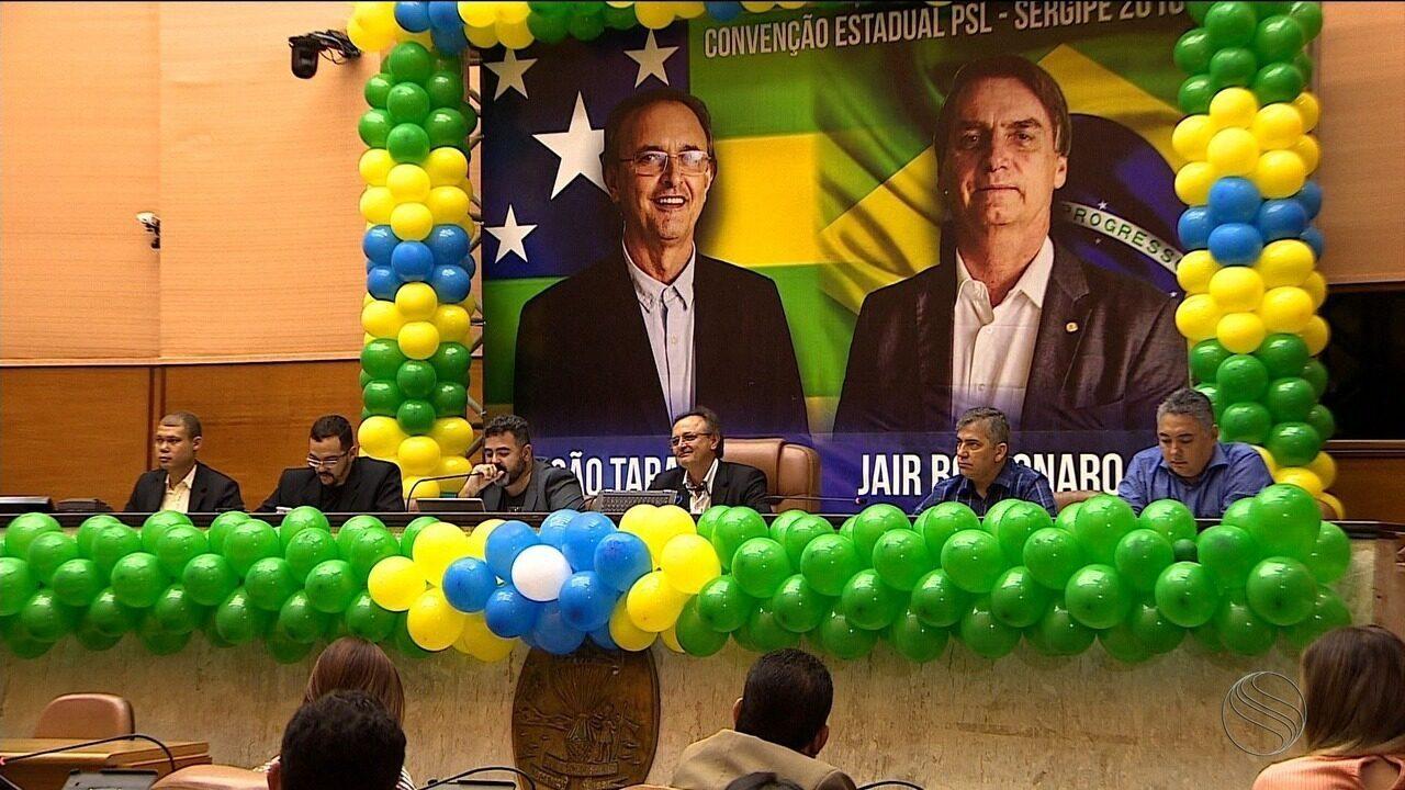 PSL confirma candidatura de João Tarantella ao governo de Sergipe