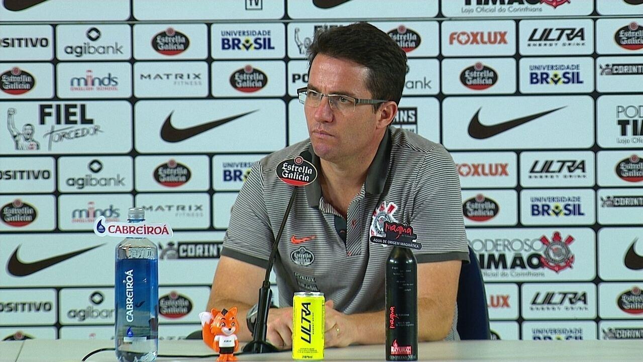Osmar Loss analisa o empate do Corinthians com o Atlético-PR