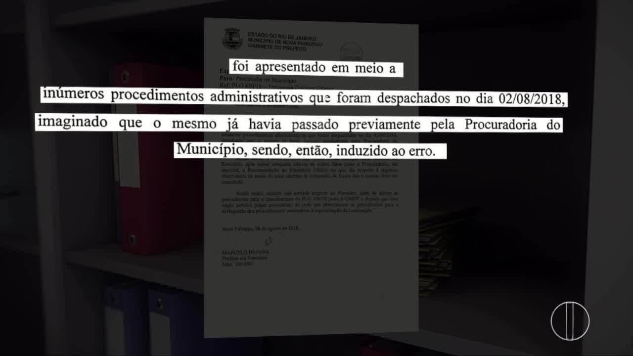 Procuradoria de Nova Friburgo, RJ, pede que Projeto de Lei urgente seja arquivado