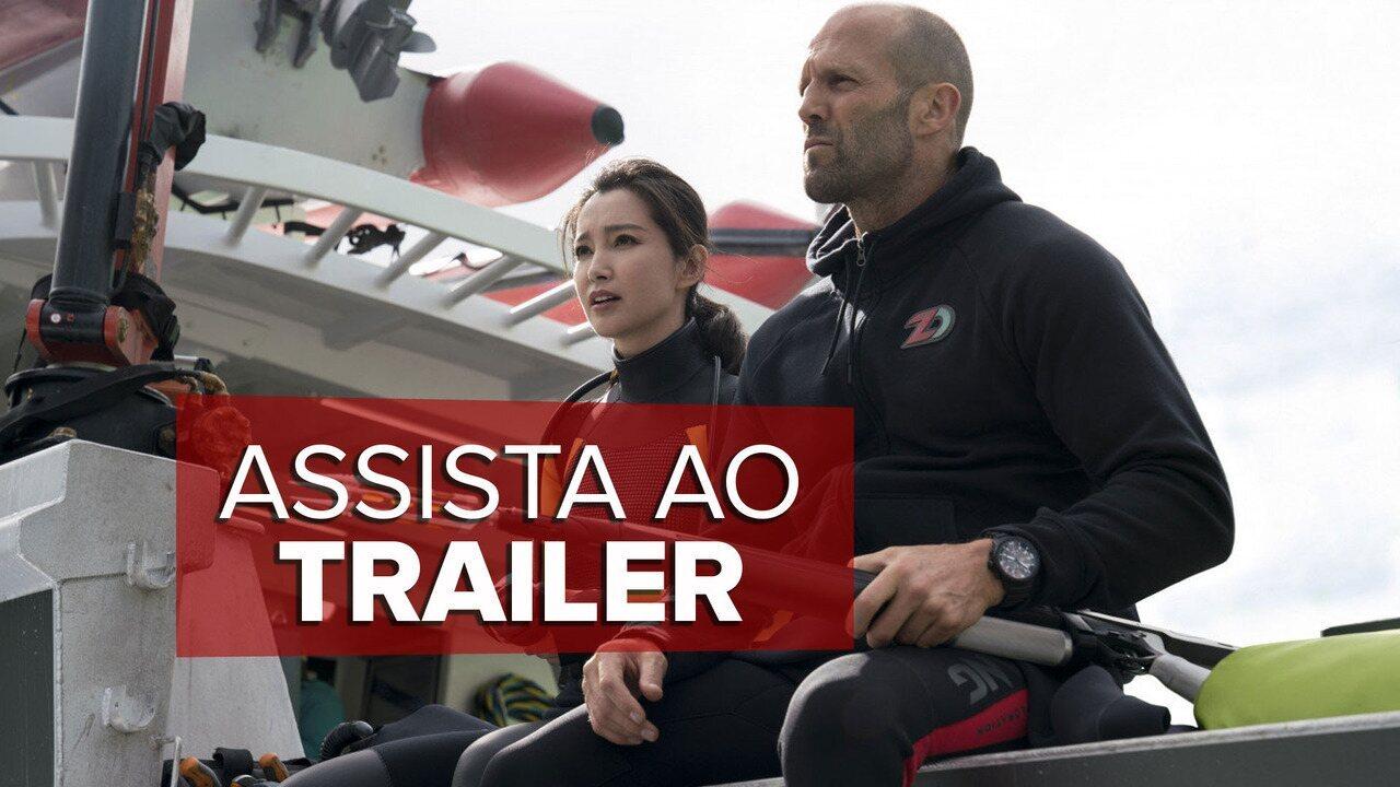 Assista ao trailer de 'Megatubarão'