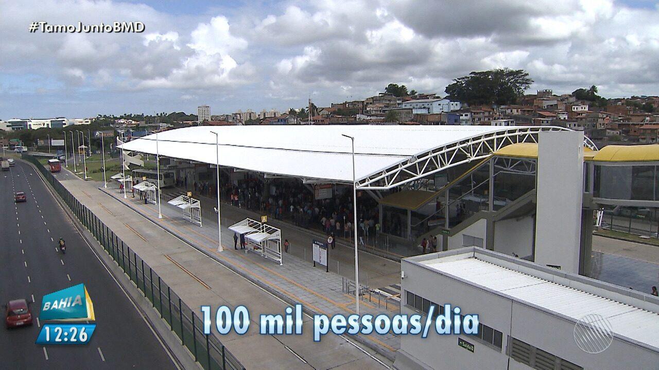 Estação de ônibus do aeroporto começa a funcionar em Salvador