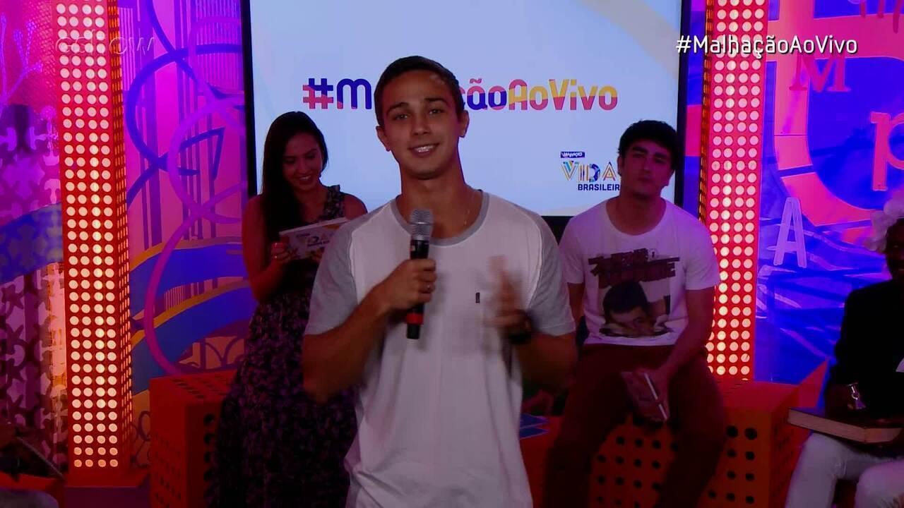 #MalhaçãoAoVivo: André Luiz Frambach defende seu personagem