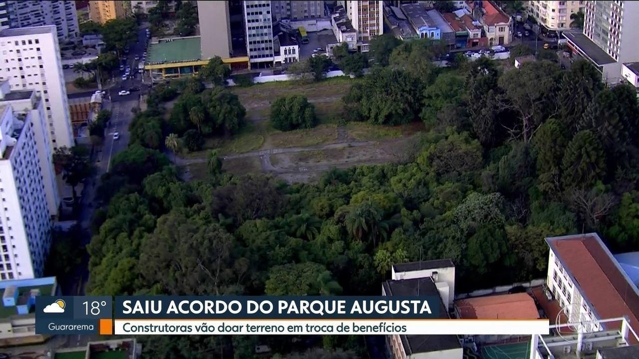 Construtoras vão doar terreno para Parque Augusta em troca de benefícios