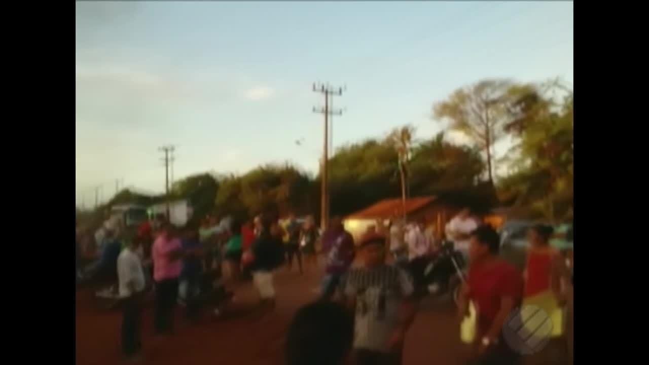 Manifestantes interditam trechos da BR-308 entre Bragança e Viseu no Pará