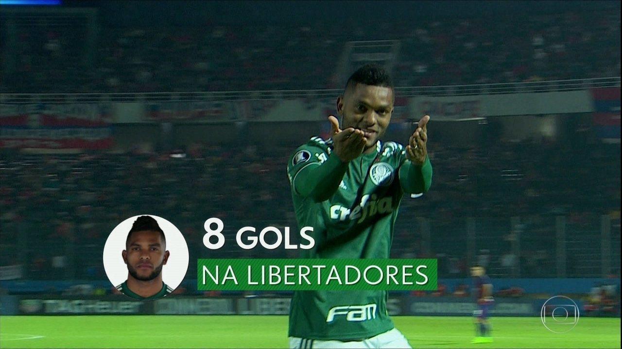 Palmeiras larga na frente em busca da vaga nas quartas da Libertadores 9aac76afa495e