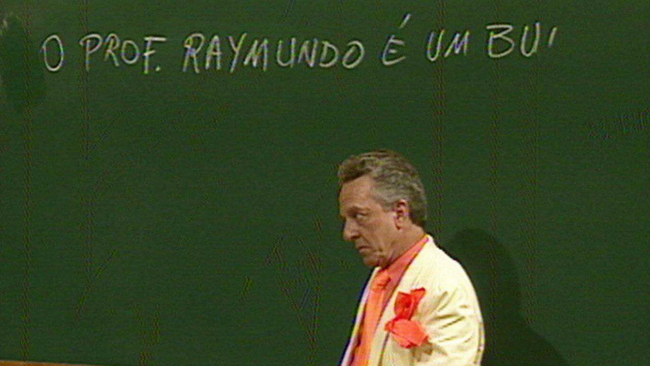 Escolinha do Professor Raimundo - Episódio de 31/01/1992 - Professor Raimundo corrige provas, Rolando Lero é pego no flagra, Bertoldo Brecha repassa nota falsa, seu Boneco faz rimas.