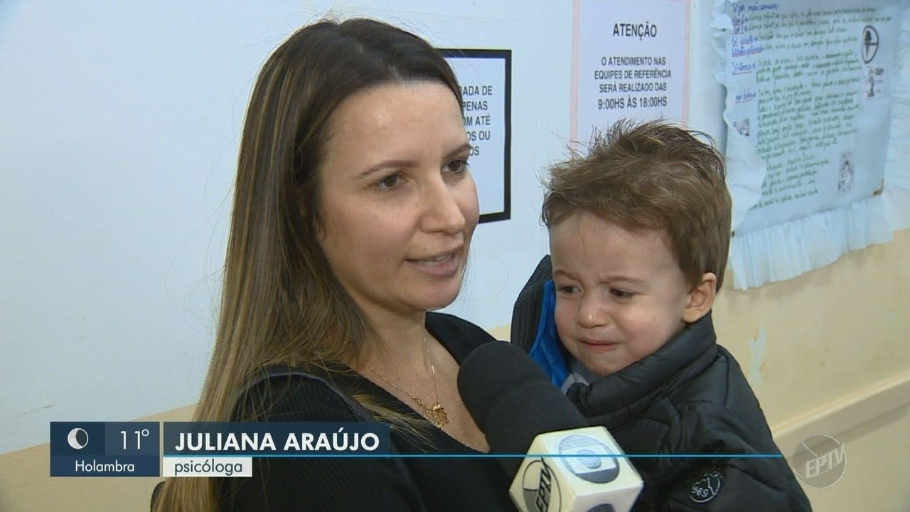 Região de Campinas tem 24% das crianças imunizadas contra o sarampo e poliomielite
