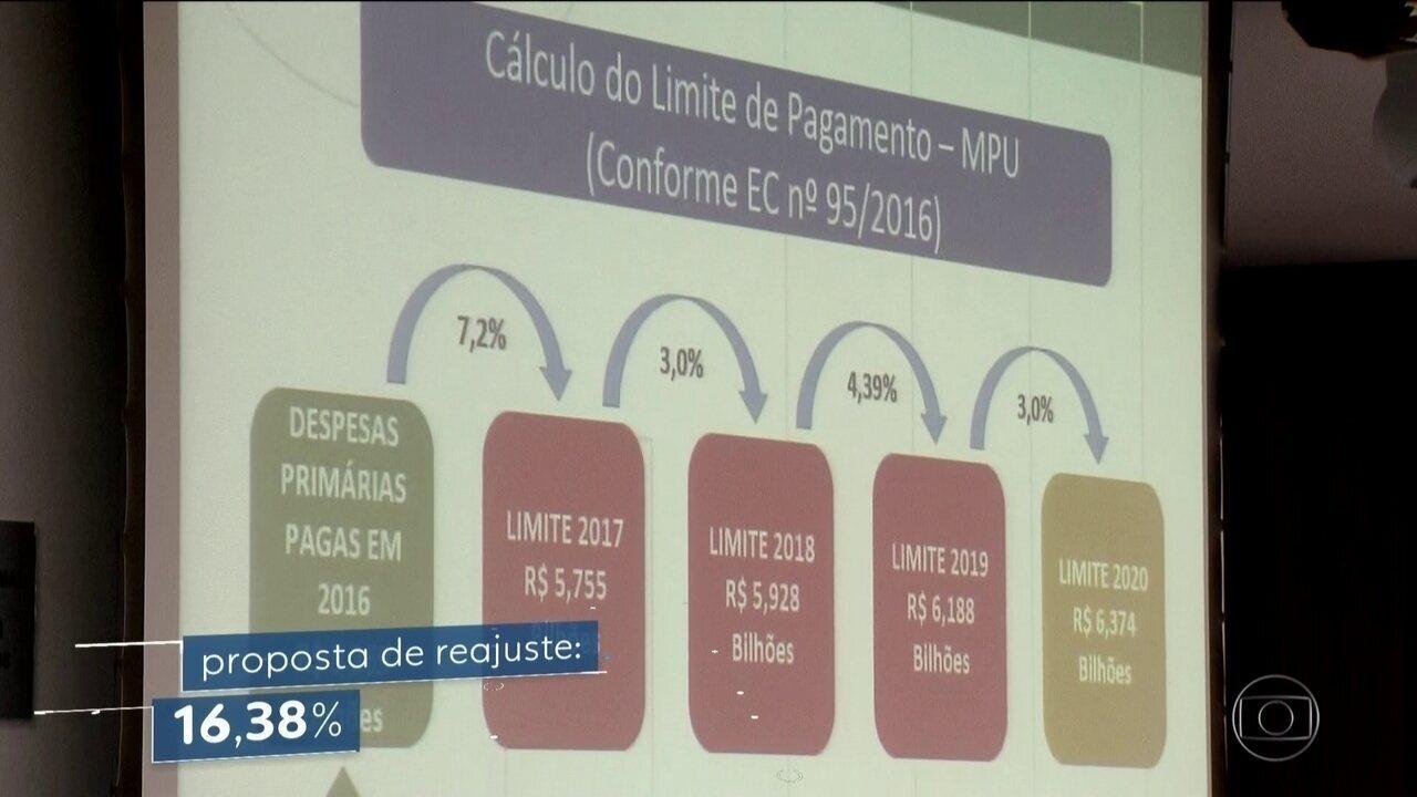 Depois do STF, Ministério Público Federal também prevê reajuste de 16,38% nos salários