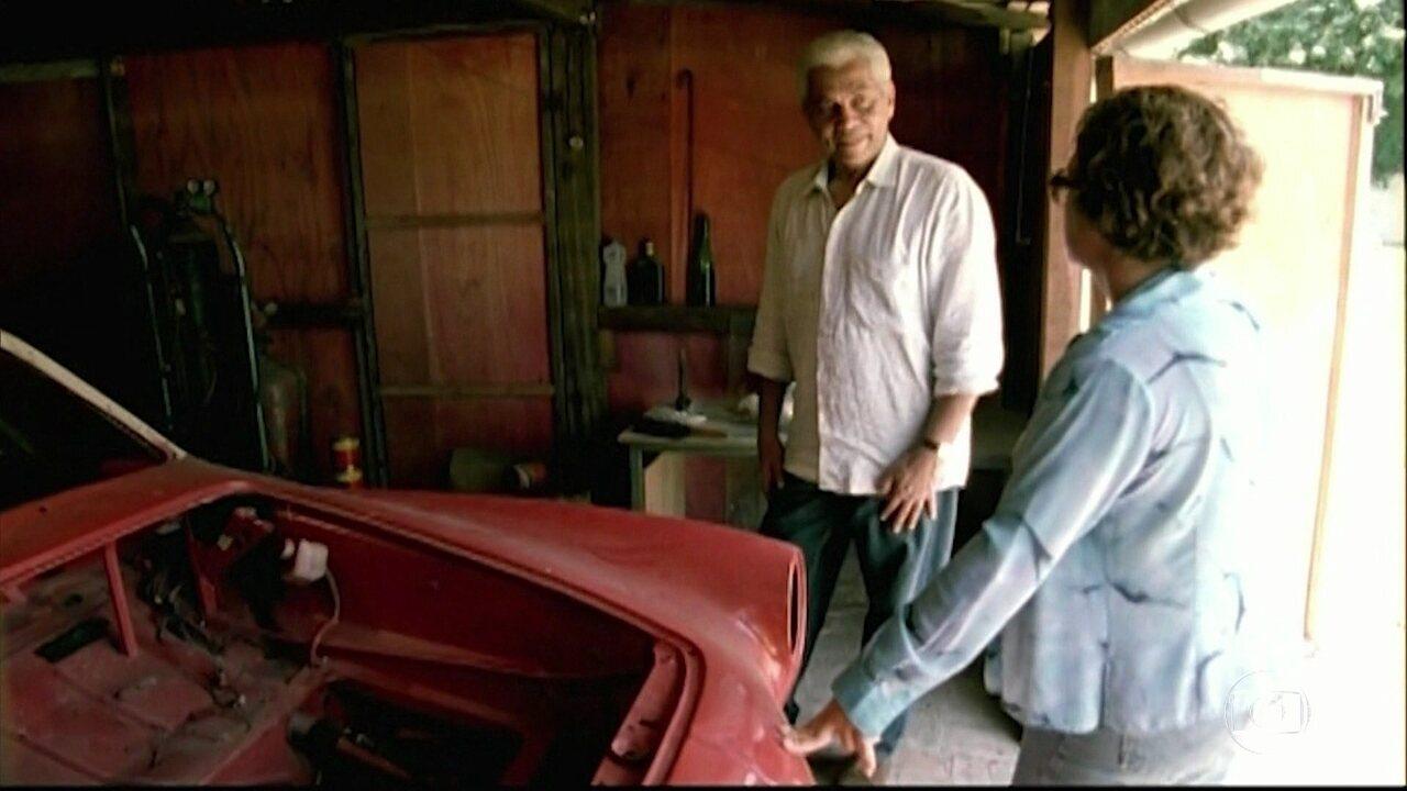 Pedro Bial ainda revela uma das paixões de Paulinho da Viola, seu Karmann Ghia