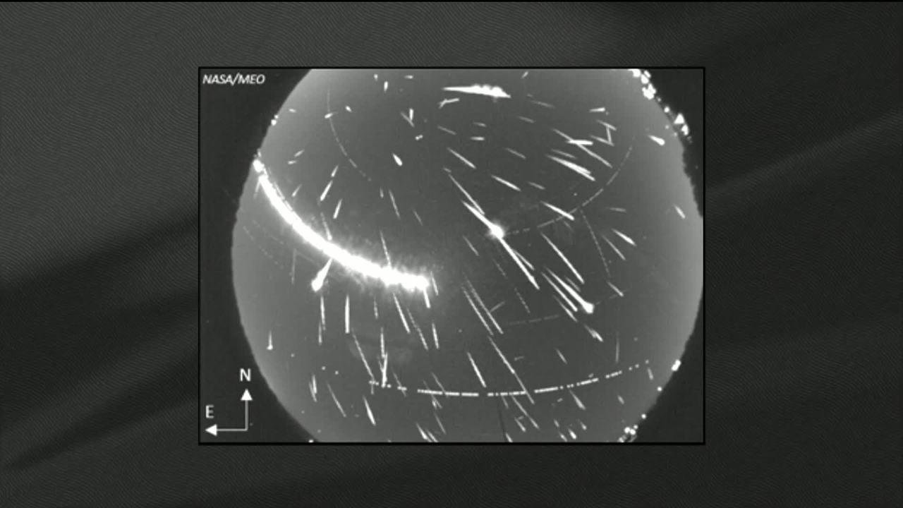 Chuva de meteoros terá pico de atividade na madrugada desta segunda-feira (13)