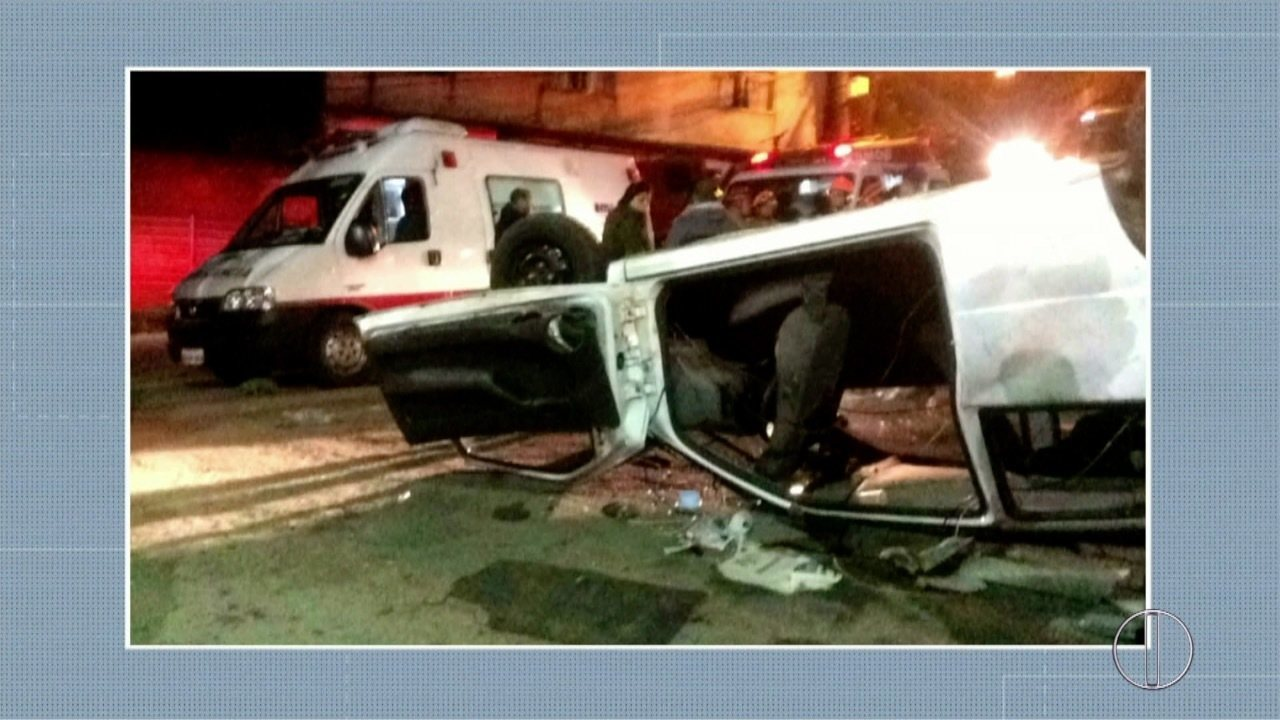 Atropelamento deixou feridos em Petrópolis