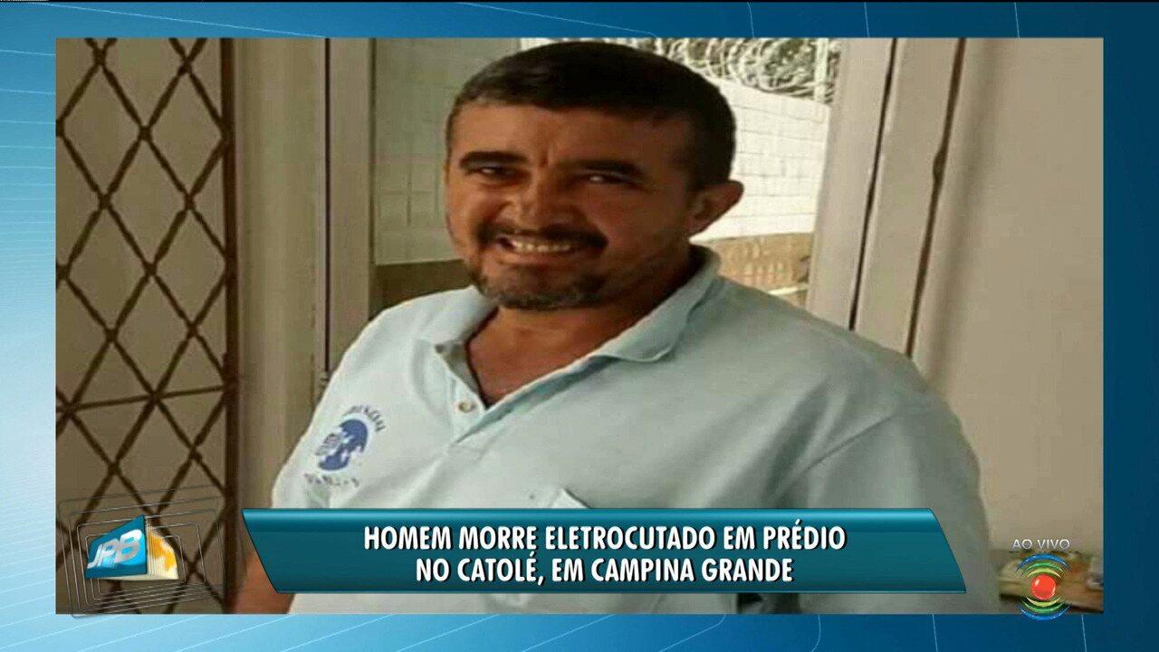 Homem morre eletrocutado em prédio em Campina Grande