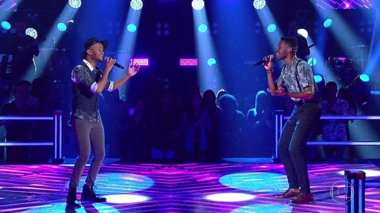 """Kevin Ndjana e Zack cantam """"Meu Abrigo"""""""