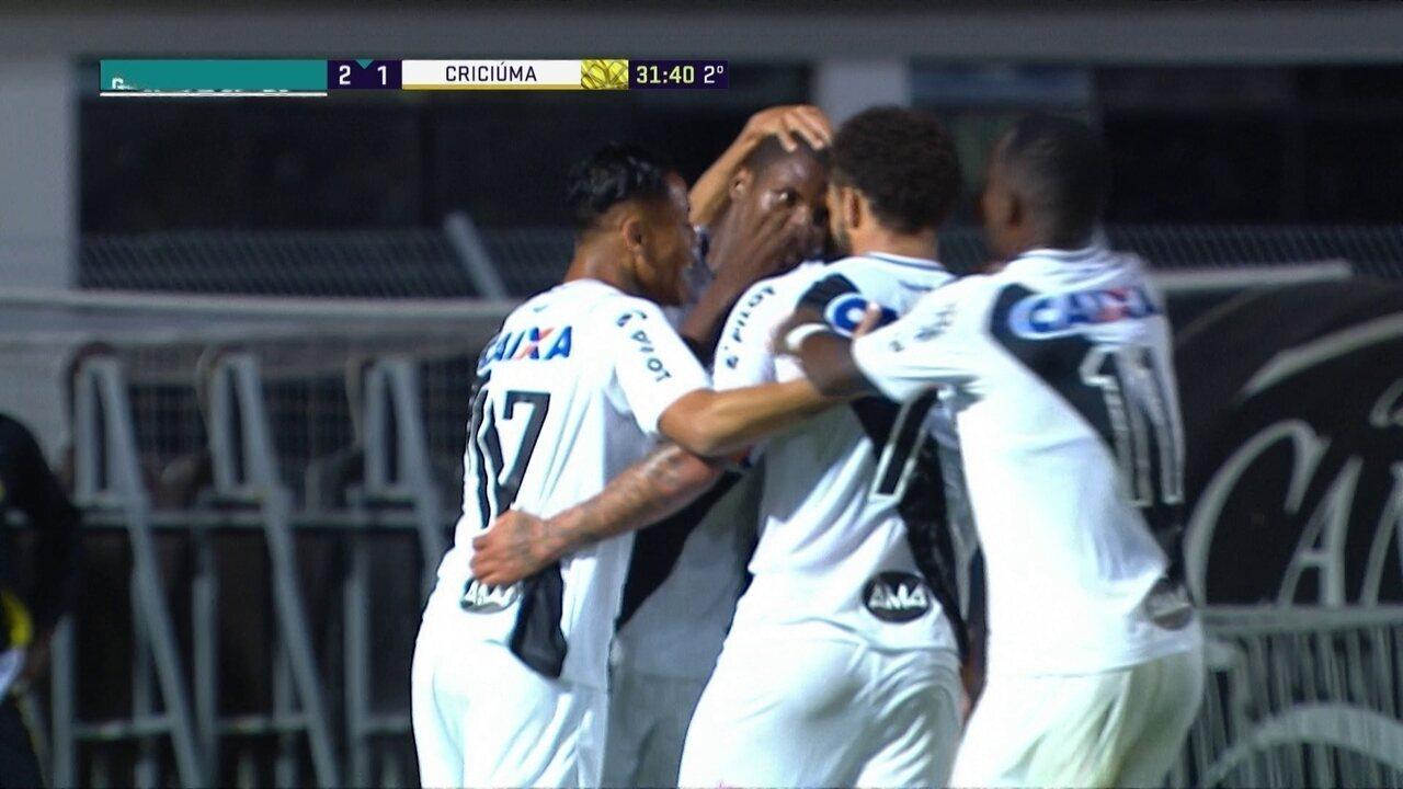Os gols de Ponte Preta 3 x 1 Criciúma pela 21ª rodada da Série B