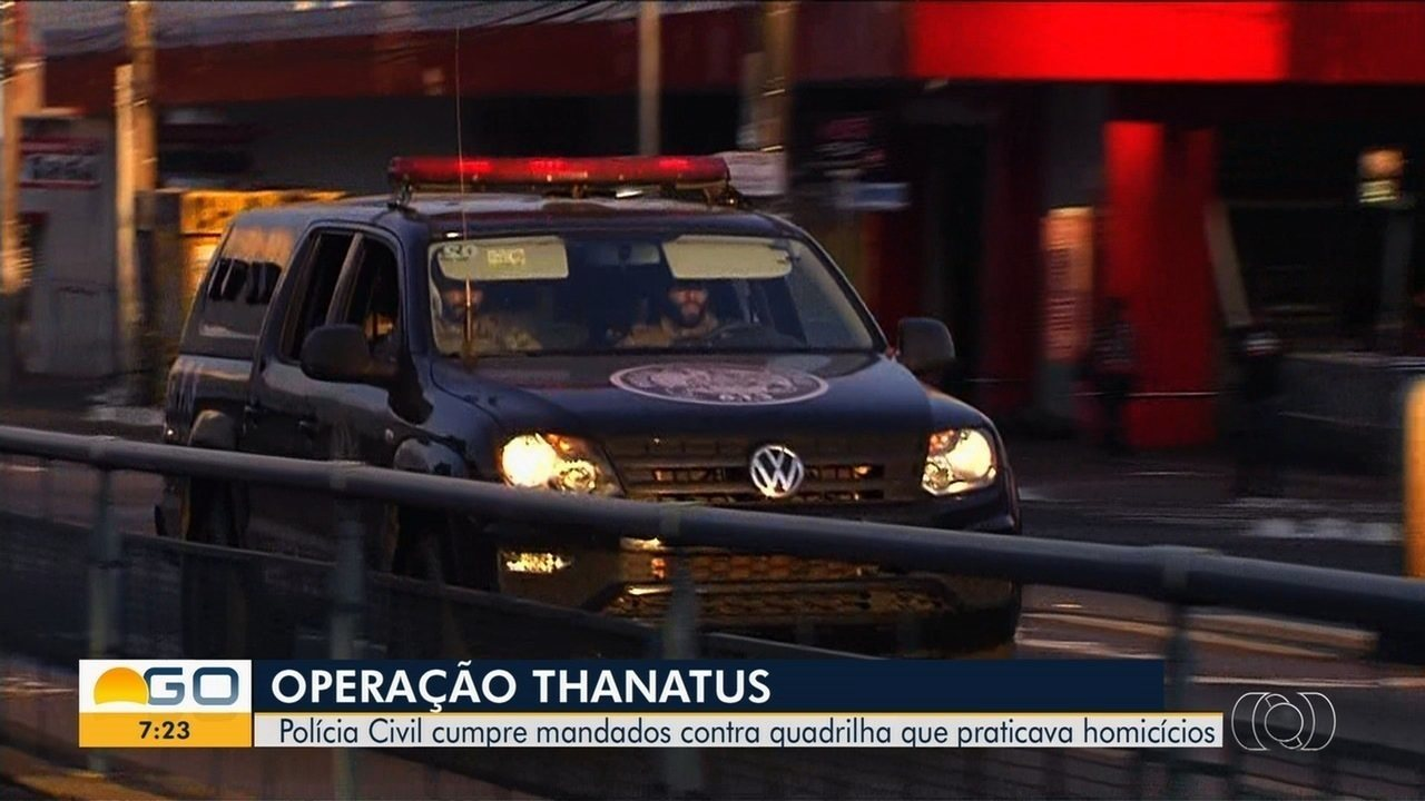 a98177cd13 Polícia Civil faz operação para combater grupos suspeitos de homicídio em  Goiás