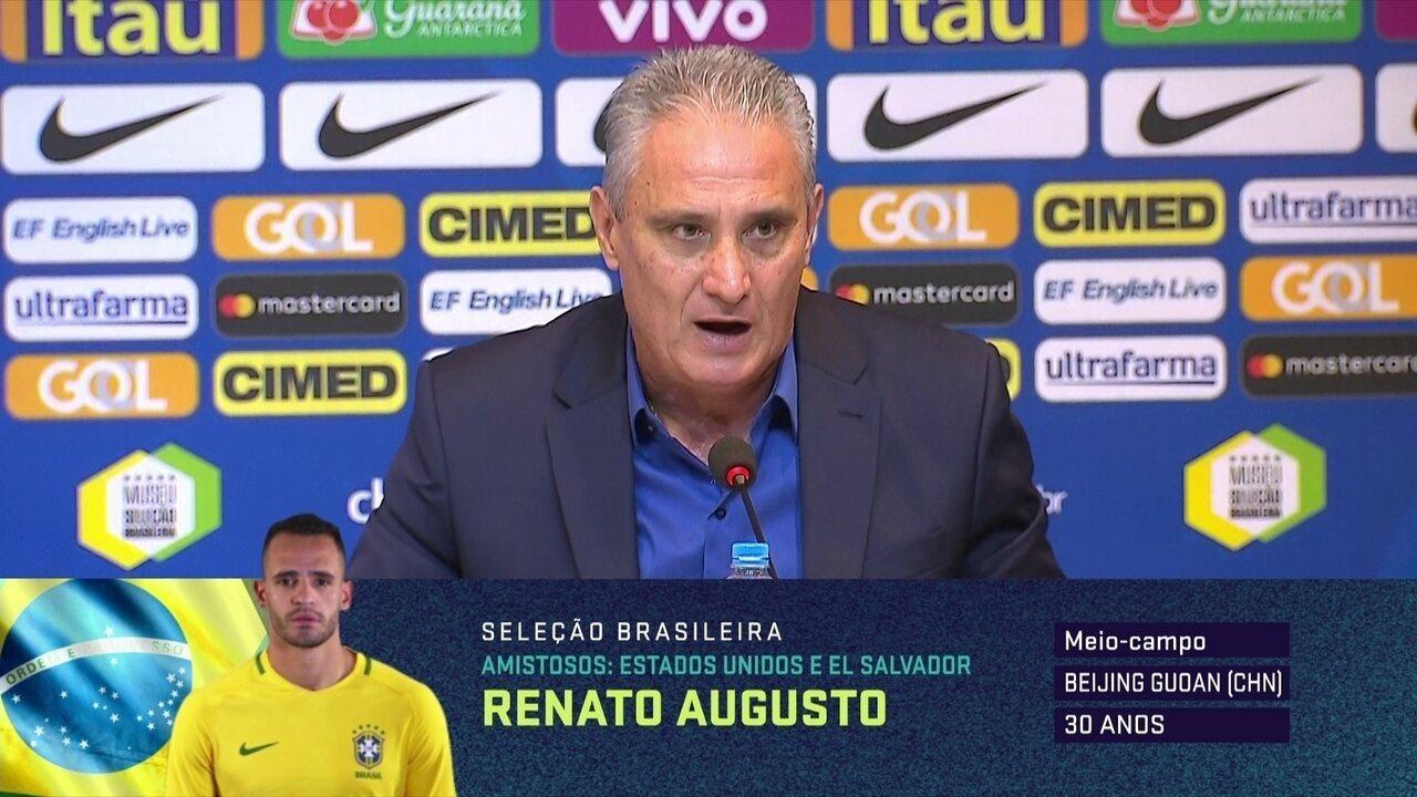 0c7b9b3852 Tite fala sobre novidades na lista de convocados da Seleção Brasileira