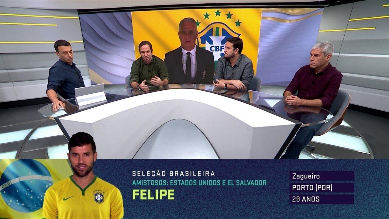 Comentaristas do Seleção debatem novidades e ausências na primeira lista de Tite após Copa