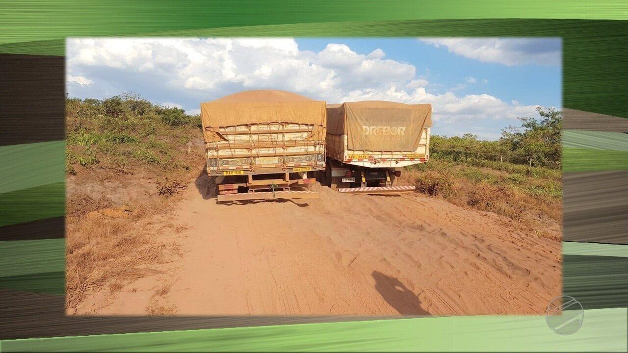 Produtores rurais reclamam das condições da MT-175