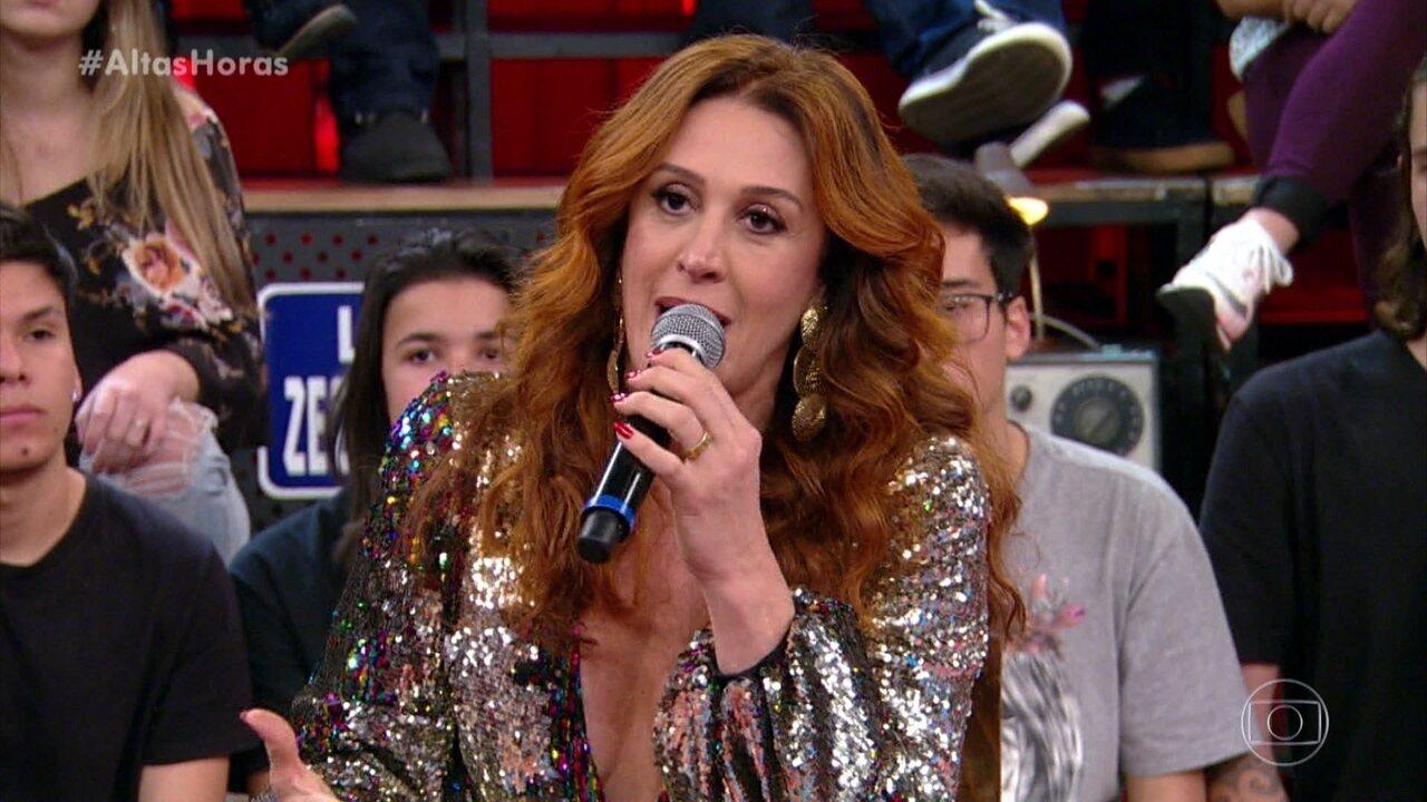 Claudia Raia fala de seu começo na área de musicais