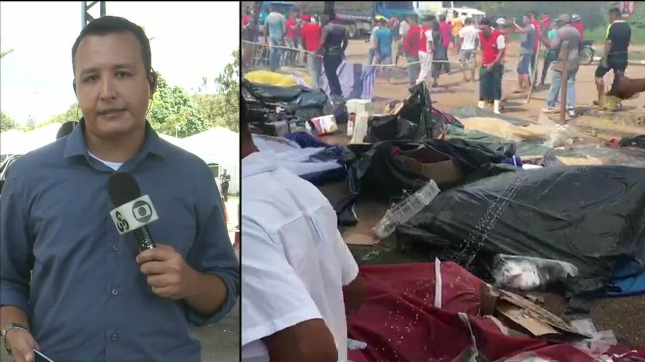 Mais de mil venezuelanos deixam Roraima após atos de violência em acampamentos