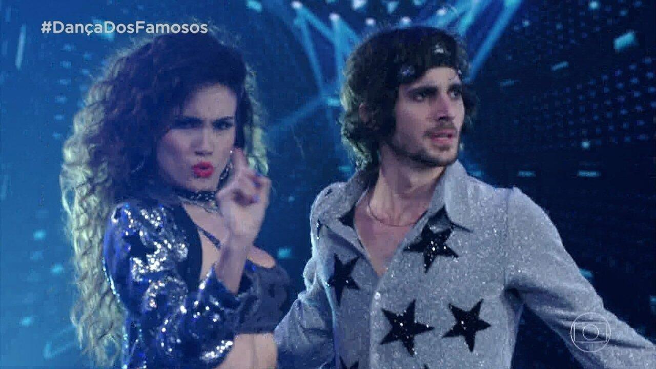 Fiuk faz sua estreia no 'Dança dos Famosos'